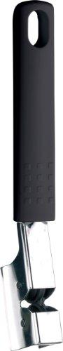 Ghidini Ss Ss Knife Sharpener, 18 x 4 Cm, Black