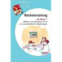 LÜK, Übungsheft, Rechentraining 1. Klasse, Addition & Subtraktion