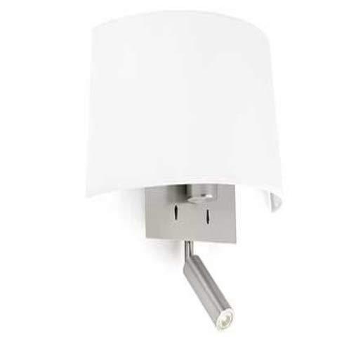 Faro Barcelona 20023 VOLTA Lampe applique blanche avec lecteur LED