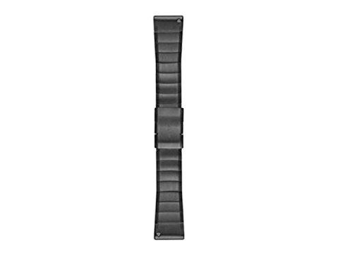 Garmin Edelstahl-Armband-26mm Quickfit-Wechselarmband, Schiefergrau, 26 mm
