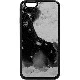iPhone 6S Plus Coque, iPhone 6Plus Coque (Noir et Blanc)-Loup Mix