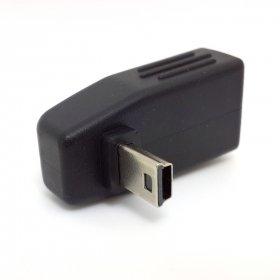 Chenyang 90gradi giù Anlgled OTG USB femmina a mini USB maschio adattatore FR auto AUX tablet