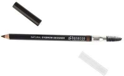 BENECOS - Eyebrow-Designer Marron - Lápiz de cejas Para corregir y acentuar las cejas - Para una curvatura natural - Para corregir cejas irregulares - Con certificado BDIH