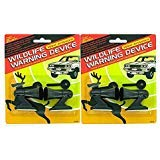 ATB 4 Ultrasonic Car Deer Warning Whistles 2 Packs Auto Safety Alert Device
