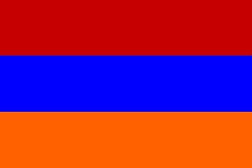 U24 Flagge Fahne Armenien 90 x 150 cm