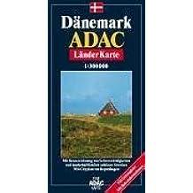 ADAC LänderKarte Dänemark 1 : 300 000.