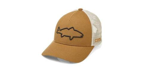 Costa Del Mar Stealth Redfish Trucker Hat Arbeitsmütze Braun - Braun Hut Trucker