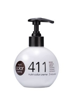 Revlon Nutri Color Creme - Soin Du Cheveu - 411 Brown - Après Shampooing 250ml