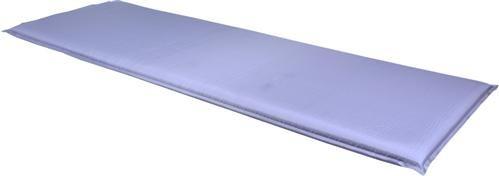 Selbstaufblasbare Thermomatte 200 x 66 x 6 cm Farbe grau