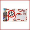 50.Geburtstag Deko XXL Umschlag für Geldgeschenke oder Gutscheine zum 50.Geburtstag Geburtstagskarte zum 50.Geburtstag