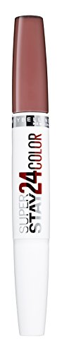 Maybelline Superstay 24H Lippenstift Nr. 444 Cosmic Coral, farbintensiver, flüssiger Lippenstift mit bis zu 24 Stunden Halt, patentierte Micro-Flex-Formel, mit integriertem Pflegebalsam, 5 g -