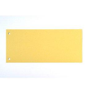 Trennstreifen RC-Karton 190g gelb 220x105mm 100 St VE=1