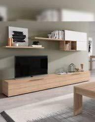 Mobile soggiorno set parete porta TV design casa salotto salone 016683F