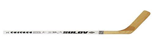 SULOV Eishockeyschläger Chicago Rechts Kurve, weiß, 105cm, HOKEJSUL105P Test