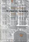 Der Verlag Walter de Gruyter: 1749-1999