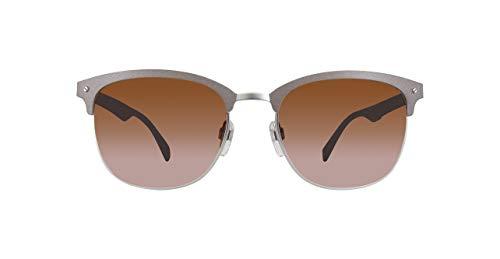 Diesel Unisex-Erwachsene DL0197-58E-55 Sonnenbrille, Grau, 56