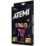 Atemi Pro Line 1000 Allround Tischtennisschläger Ping Pong Top Qualität - ITTF zugelassen - Ideal für Anfänger und Fortgeschrittene (Konkav)