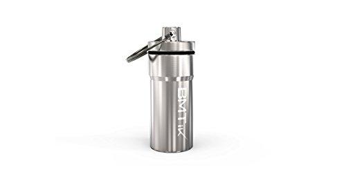 Bmtick posacenere portatile argento inodore