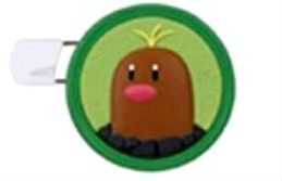 Pokemon Sun & Moon Round Brooch Pin Badge~Digda Diglett Digda