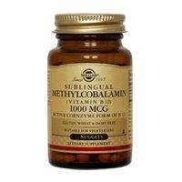 Solgar, Sublingual Methylcobalamin (Vitamin B12), 1000 mcg, 60 Nuggets (3 pack) by Solgar