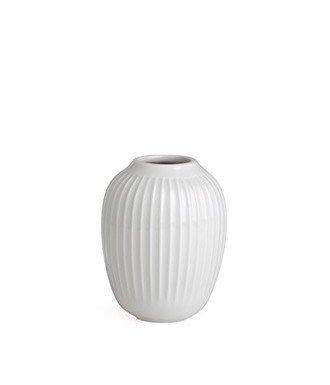 Kähler Design - Vase Hammershøi - Keramik - Weiß - Ø 8,5 cm - Höhe 10cm