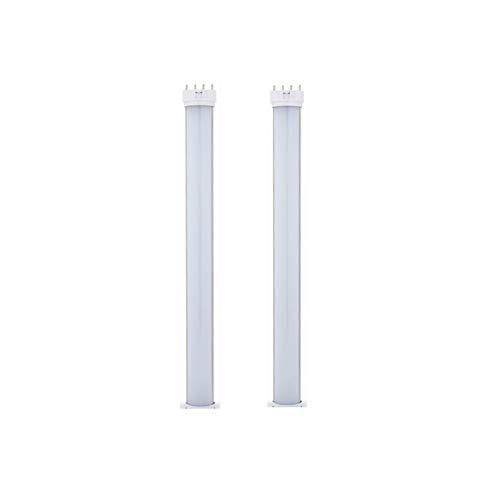 HHF LED Bulbs Lamps, LED-Glühlampen, 18W 2G11 4-Pin-Sockel 16.3 Zoll 2G11 Horizontalplug LED-PL-Lampe für 35W-Leuchtstofflampen-Ersatzlampe (Entfernen oder Überbrückungsvorschaltgerät) AC85-265v 2-Pac -
