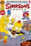 Simpsons Comics 1 , Nov 1996 , Erstausgabe, Dino Bongo Comics. Comic-Heft