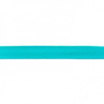 Jersey Schrägband Uni 20 mm - Dunkelmint