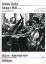 VIVALDI, Sonate en Mi mineur pour Violoncelle et Guitare RV
