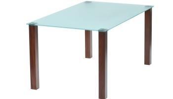 futureglass Union matt oder Farbiger Tisch 1400mm x 800mm