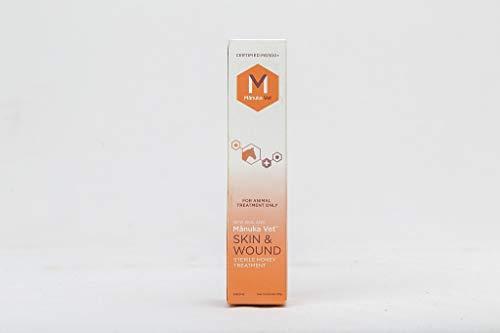 ManukaVet Manuka Wundbehandlung für Pferde und Kleintiere | 100% Antibiotikafrei (Wund Gel 20ml)