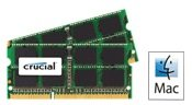 Ram memory 8GB kit, (2 x 4GB), DDR3 PC3-8500, 1067MHz, 204 PIN SODIMM for late 2008/2009 and Mid 2010