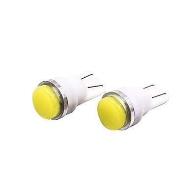 OTOLAMPARA 2pcs T10 Automatique Ampoules électriques 3 W COB 240 lm 1 LED Éclairage intérieur Pour Toyota/Mazda / Hyundai Mazda3 / Ranger / I30 Toutes les Années (3C_Connection : T10-Blanc)