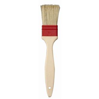 Matfer E444 Matfer Pastry Brush, Natural Flat Bristles, 4.5 cm