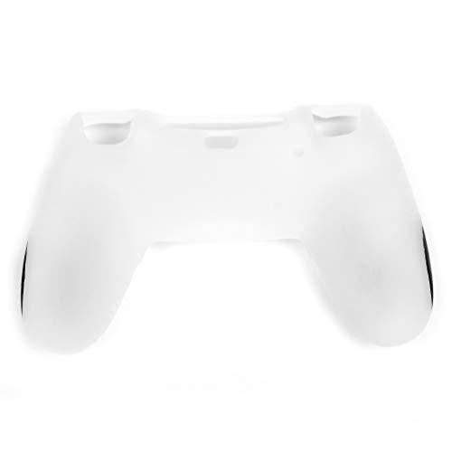 PS4 Controller Schutzhülle Soft Premium Silikon Playstation 4 Controller Skin Rubber Case weiß