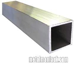 Aluminium Box Section 50mm X 50mm X 3mm X 250mm