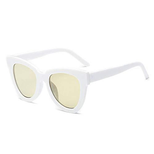 Damensonnenbrille Big Box Damensonnenbrille Damenbrille uv400@Gelb