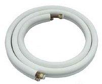 5m Cable de Cobre 1/4 + 3/8 Pulgadas doble Tubería de refrigerante