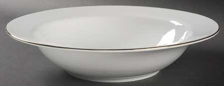 Charter Club Grand Buffet Fine Line Gold Rand Suppenteller Gold-rimmed Soup Bowl