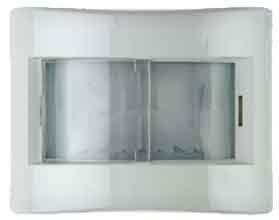 Berker 17830069verkabelt Wand weiß Bewegungsmelder Bewegung sensor–(verkabelt, 10m, 23,5mm,-20–45°C, 1Stück (S), weiß) (Hlk-kanal)