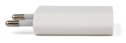Weißes Wandladegerät Netzteil mit USB-Eingang zum Aufladen der VANTRUE x1 Auto Dash Cam | R1 Pro DVR | R2 2K Ultra HD Videokamera (Pro Tracker Ultra)