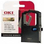 OKI Systems Kassette 09002303 Farbband schwarz Textil ML 182/183/192/193/280/320/321/3320/3321