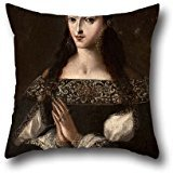 oil-painting-pedro-ru-z-gonzalez-portrait-of-the-wife-of-captain-barrios-throw-pillow-covers-20-x-20