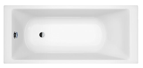 Borneo Premium Rechteck Badewanne, Acryl, 190x90cm / 200x90cm