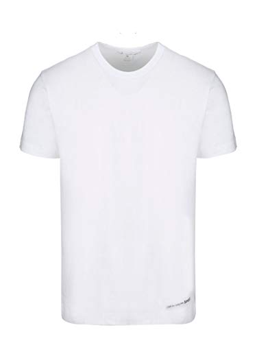 Comme des Garçons Shirt Herren W271113white Weiss Baumwolle T-Shirt -
