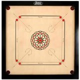 Surco Ellora Carrom Board with Coins And Striker, 8 mm Full Size