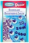 Günthart - Schokoladen Buchstaben & Zahlen - 42g