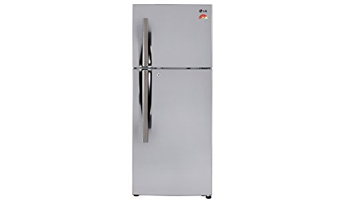 LG GL-I292RPZL Frost-free Double-door Refrigerator (260 Ltrs, 4 Star Rating, Shinny Steel)