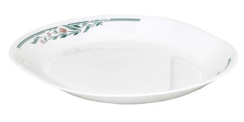 Corelle Livingware 12-1/4-Inch Serving Platter, Rosemarie by CORELLE - Corelle Rosemarie