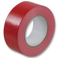 1 Roll Gaffer tape Red 48mm x 50m gaffa duct duck packing cloth book binding